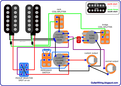 Stereostudio on Gibson Les Paul Wiring Diagram As Well Epiphone Guitar