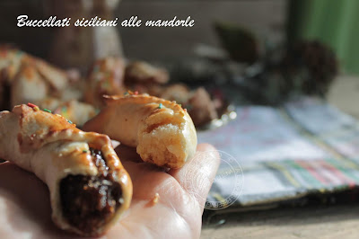 Ricetta di Natale | Buccellati siciliani con ripieno di mandorle e fichi