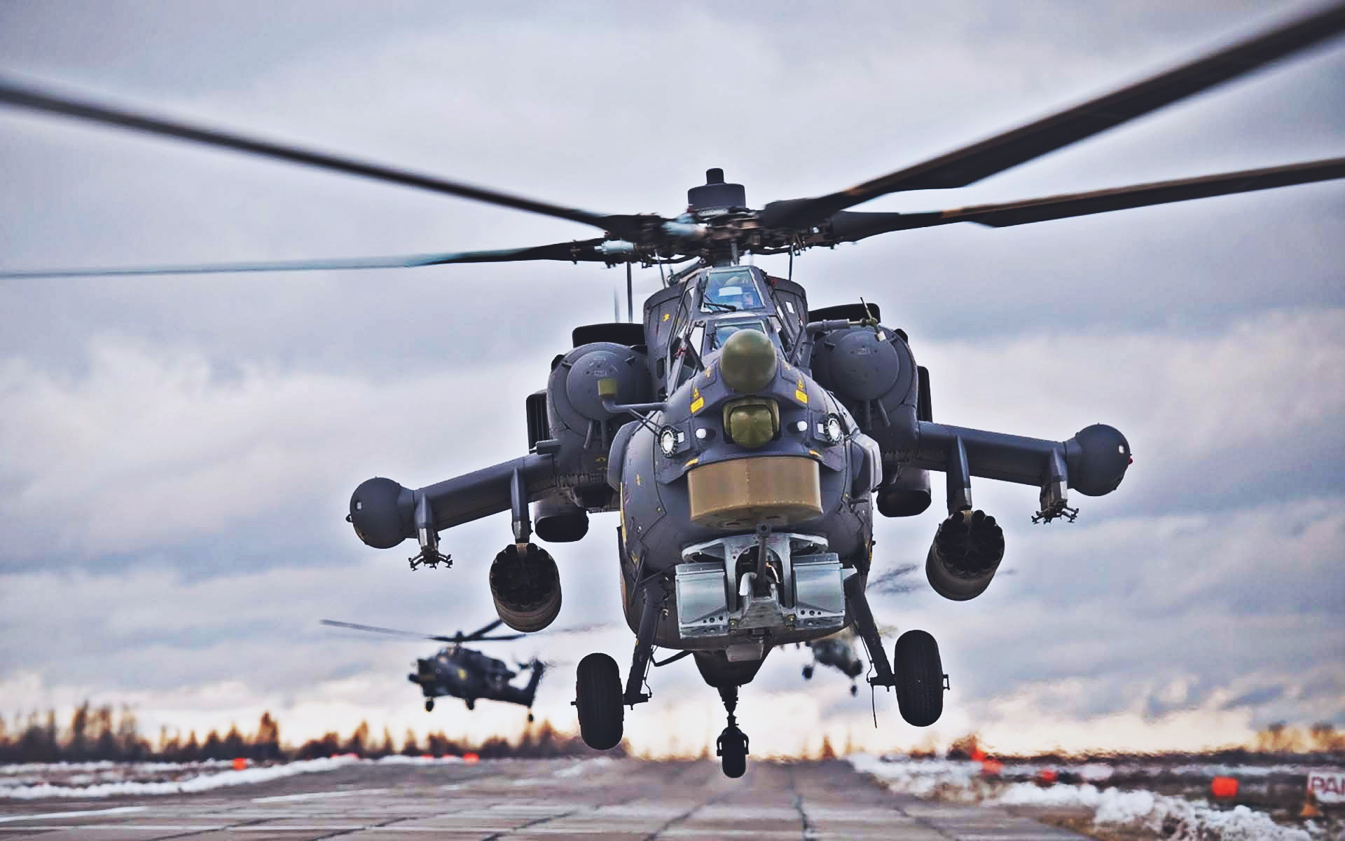 4 Mil Mi-28 Havoc most powerful military helicopters