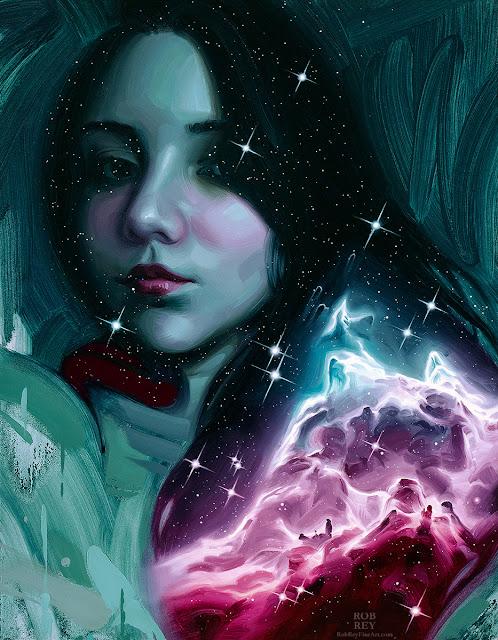 Stardust III by Rob Rey - robreyfineart.com