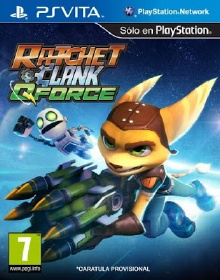 Retired Galactic President Captain Qwark searched in vain for space adventure Ratchet  Clank Q Force