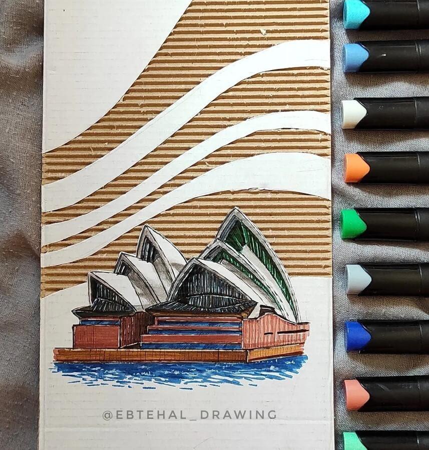 11-Sydney-Opera-house-Ebtehal-Salah-www-designstack-co