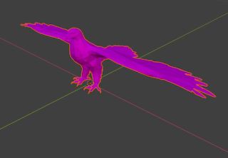 Blenderで開いた3Dモデルが紫色になってしまう時の対処法
