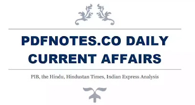 Pdfnotes The Hindu Daily Current Affairs