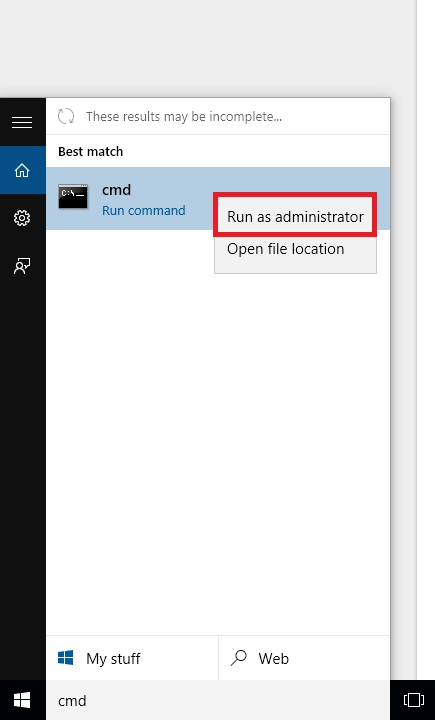 how to select different drive in cmd