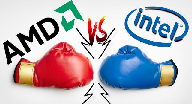 مقارنة بين معالجات Intel و AMD