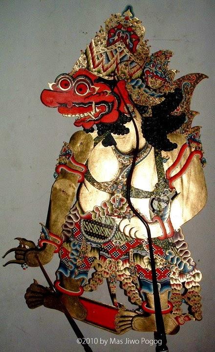 Bathara Kala iku putrane Sanghyang Manikmaya lan Dewi Umayi kang  nomer enem Bathara Kala (Bahasa Jawa)