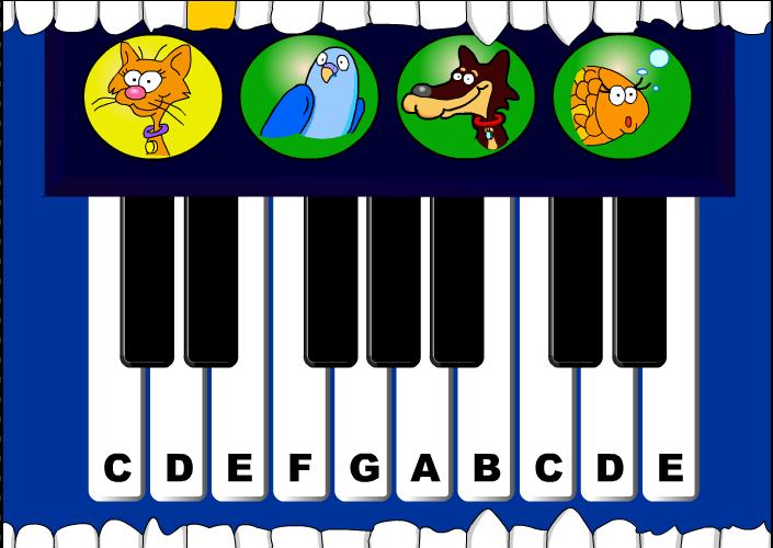 Material De Isaac Para Educacion Especial Juego Piano Musical