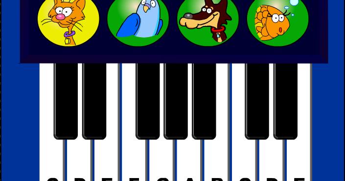 Material De Isaac Para Educacion Especial Juego Para: Material De Isaac Para Educacion Especial: JUEGO Piano Musical