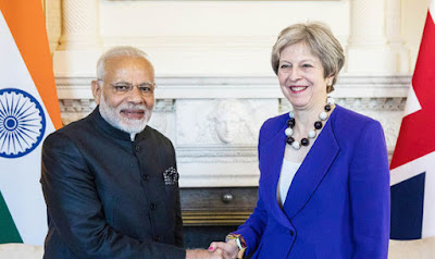 India and United Kingdom agreed to strengthen ties on Indo-Pacific Cooperation