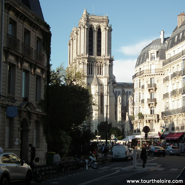 View of Notre-Dame de Paris, 4 months after the fire. Paris. France. Photographed by Susan Walter. Tour the Loire Valley with a classic car and a private guide.