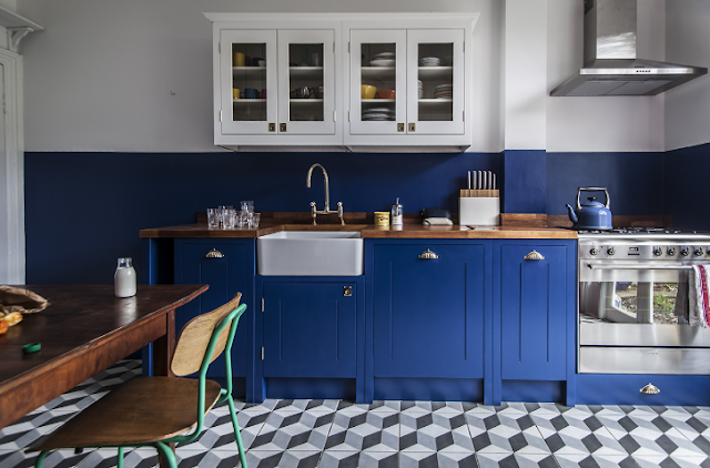 The kitchen London room: kitchen of the Week A brilliantly colored