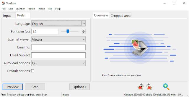 Screenshot VueScan Pro 9.7.21 Full Version