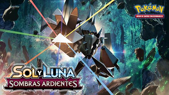 La expansión de cartas pokémon Sombras Ardientes llegará el 4 de agosto con Necrozma-GX