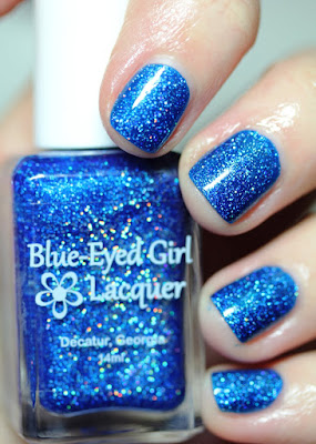 Blue-Eyed Girl Lacquer BEGL Deep Blue Dream