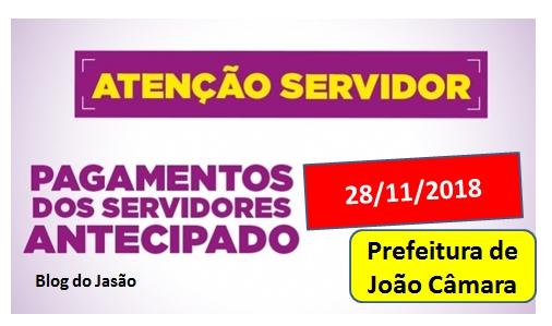 Prefeitura de João Câmara inicia pagamento dos Servidores efetivos do município e ate sexta concluirá
