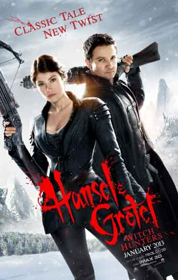 Hansel & Gretel: Witch Hunters 2013 480p 300MB BRRip Dual Audio