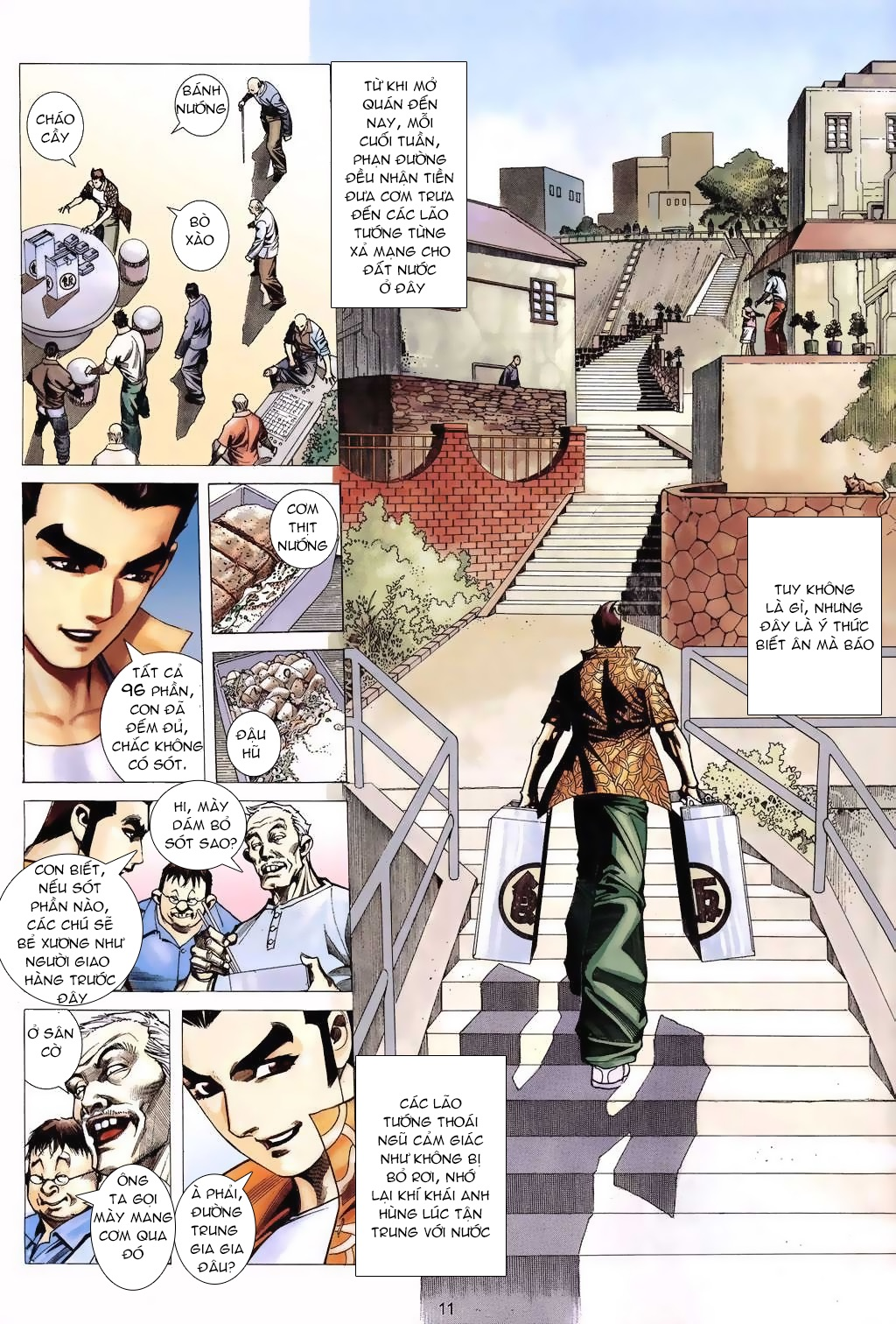 Xích Trụ Phạn Đường chap 6 - Trang 11