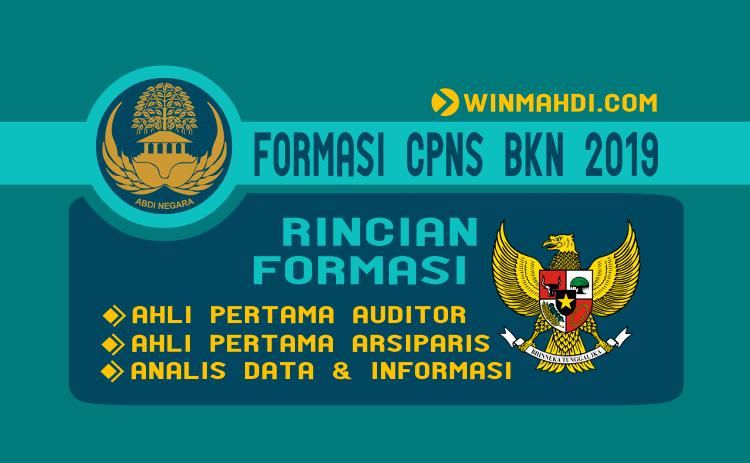 FORMASI CPNS BKN 2019