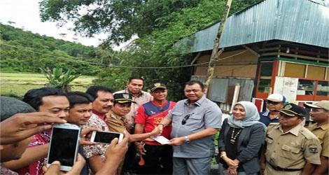 Jemput Aspiras Masyarakat , Anggota Dapil VI DPRD Sumbar Lakukan Reses Sijunjung ,Sawahlunto