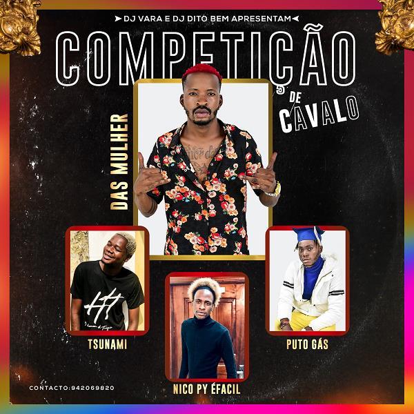 Das Mulher - Competição De Cavalo (feat. Tsunami X Nico Py X Puto Gás) (Afro House) [Download]