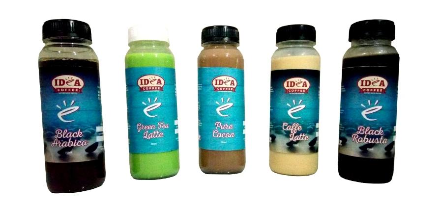 Produk UKM IKM Depok Kopi dan Non Kopi Ready To Drink  250ml - Idea Coffee | UKM Zone