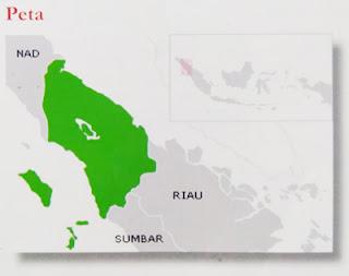 peta buta sumatera utara