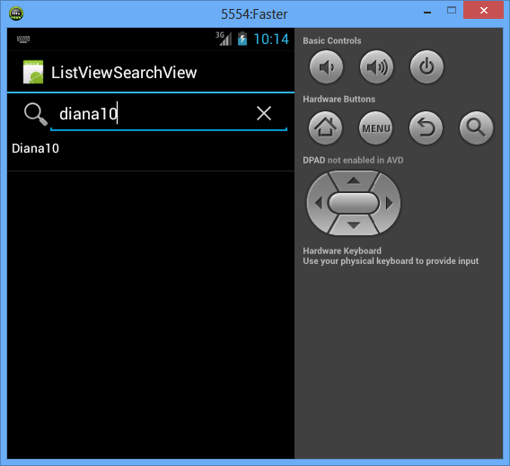 Android: ListView with SearchView - My Android Solutions
