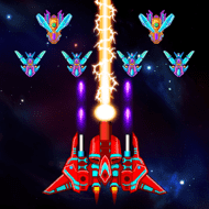 Galaxy Attack: Alien Shooter (MOD, Free Shopping) 8.07.apk