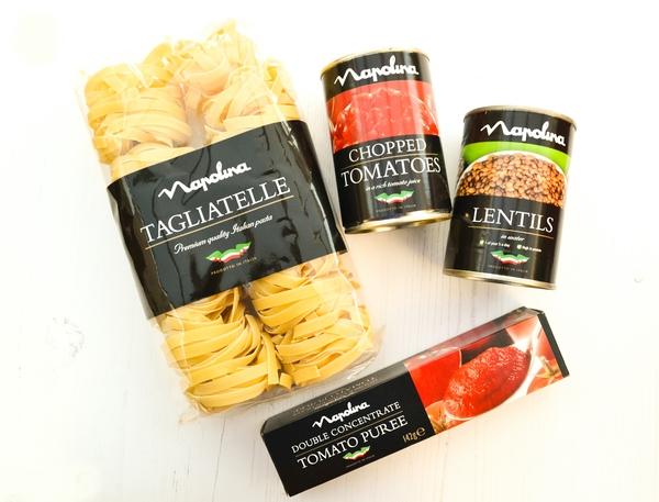 Napolina products
