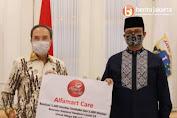 Kolaborasi Lawan Covid-19, Pemprov DKI Jakarta Terima Bantuan Dari  Empat Kolaborator  Baru
