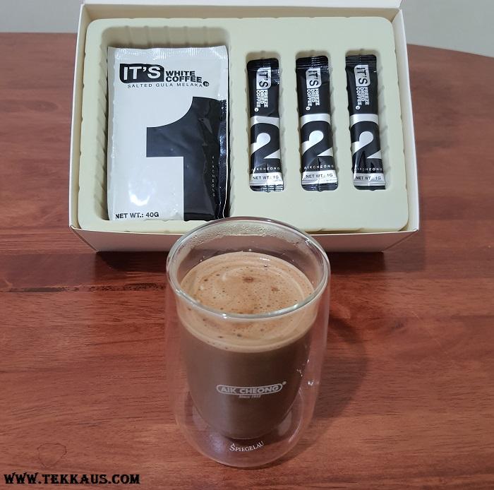 IT'S SIXPACK White Coffee Salted Gula Melaka