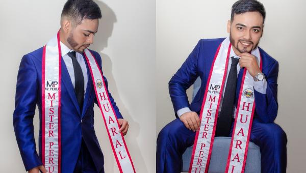 Benny Valerio es Mister Perú Huaral 2021