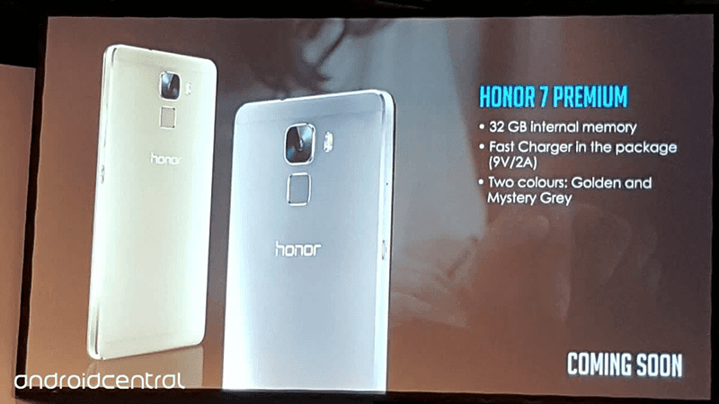 Honor 7 Premium launched