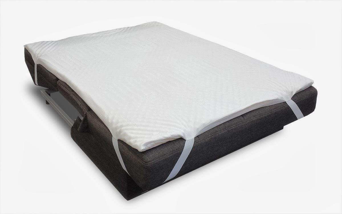 Futonland Sofa Bed Pillow Top Mattress Pad By Comfort Pure