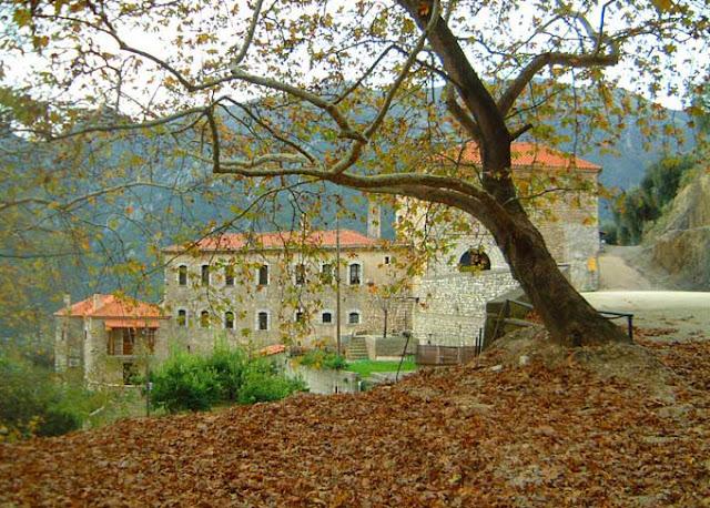 Λαμπρά εορτάστηκε στη Μονή Γηρομερίου η μνήμη του ιδρυτή της οσίου Νείλου