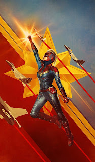 Captain Marvel Mobile HD Wallpaper