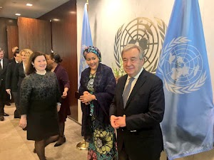 Amina Mohammed Sworn-In As United State Deputy Secretary General- See Pics