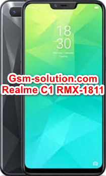 Oppo Realme C1 RMX1811 Official Firmware Stock Rom/Flash File