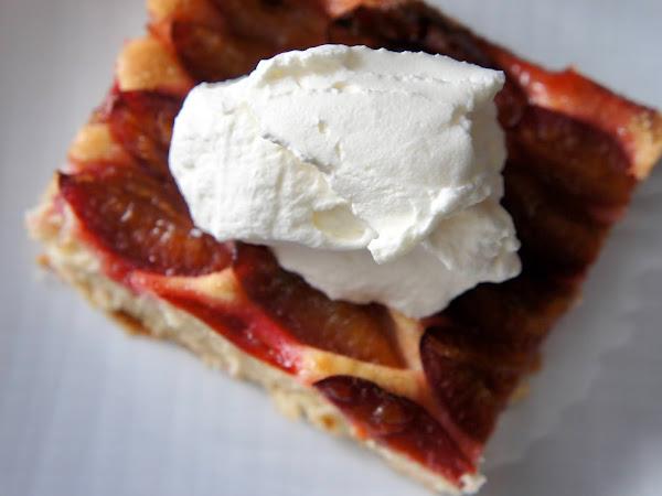REZEPT: glutenfreier Zwetschgenkuchen vom Blech