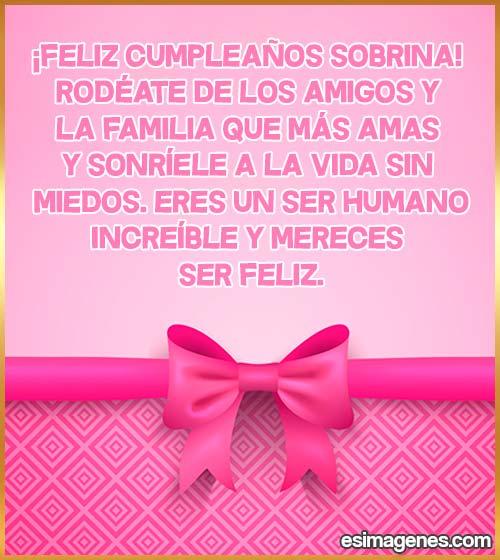 cumpleaños de la sobrina
