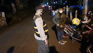 Patroli Malam, Polsek Cimenyan Polresta Bandung Imbauan 3M