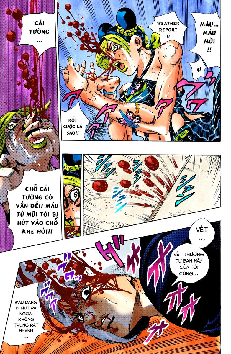 JoJo's Bizarre Adventure Chap 637 - Trang 12