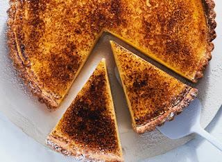 Tarte creme brulee béo mịn dễ làm tại nhà