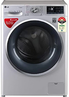 LG 8 Kg Inverter Wi-Fi Fully Automatic Front Load Washing Machine (FHT1408ZWL)