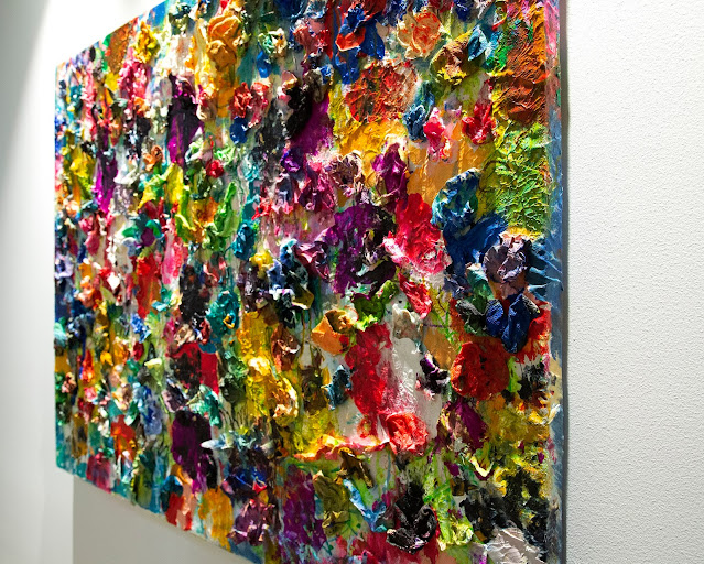 36 X 48 Mix Media Recycling Material