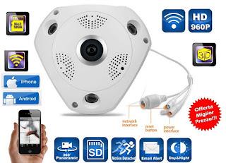 telecamera ip camera 360