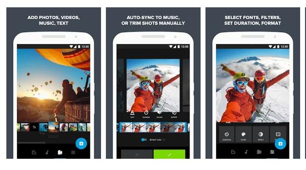 Aplikasi edit video GoPro di Hp