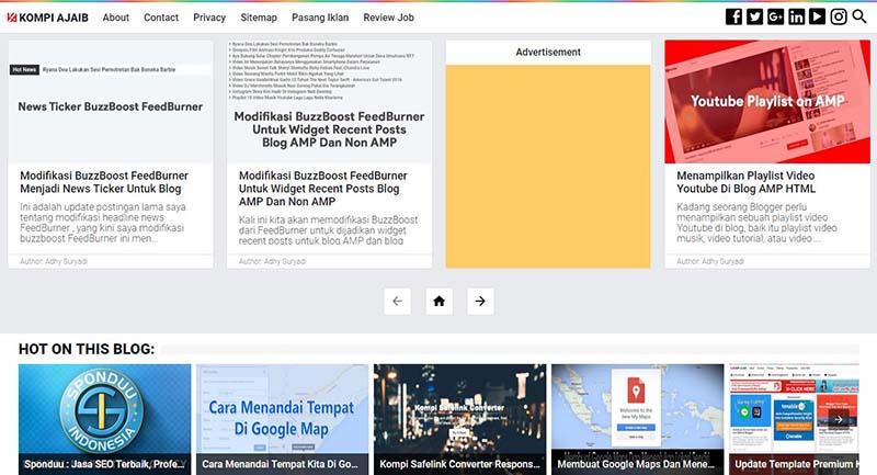 Aktifkan Background Warna Jika Iklan Adsense Tidak Muncul