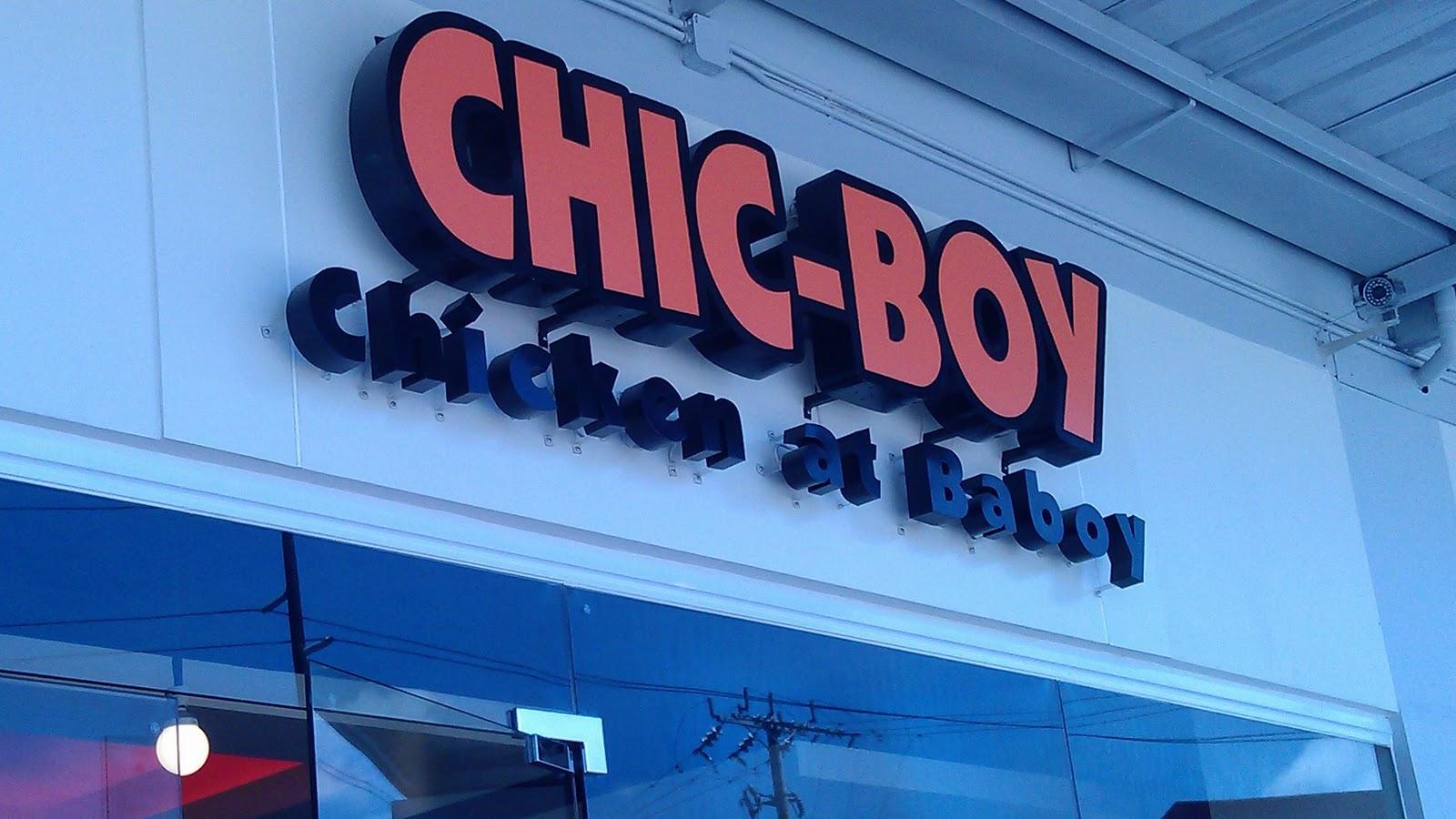 Chic Boy Restaurant In Central Mall Noelizm